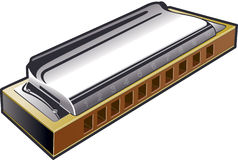 Harmonica Royalty Free Stock Images