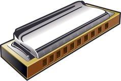 harmonica Стоковые Изображения RF