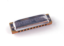 Harmonica or mouth organ Royalty Free Stock Photos