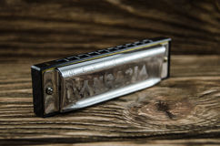 Harmonica Royalty Free Stock Photo