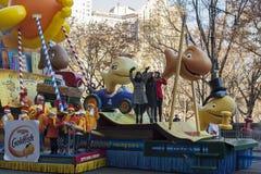 Harmonie de Fith dans le défilé de Macy's Images libres de droits