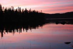 Harmonie de lac Images libres de droits