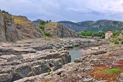 Harmonie de montagne de la terre Photos libres de droits