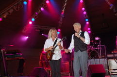 Harmonie : Dennis DeYoung en cendre bleue Photo stock