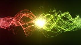 Harmonie en evenwicht tussen de energie stock illustratie