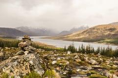 Harmonie en montagnes Photographie stock
