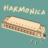 Harmonijka Zdjęcia Stock