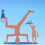 Harmonijny równoważenie ilustracji