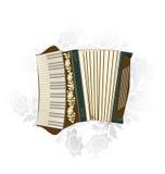 Harmonika royalty-vrije illustratie