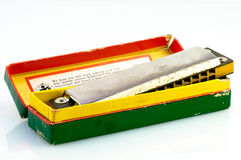Harmonika stock afbeelding