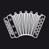 harmonika Muzikaal instrument voor jong geitje Het stuk speelgoed van de baby Stock Afbeeldingen