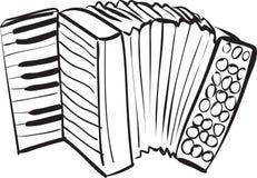 Harmonikakrabbel Royalty-vrije Stock Afbeelding