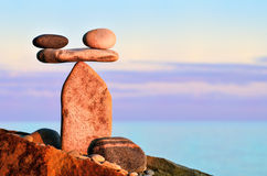 Harmonious balance Stock Photos