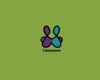 Harmonious Company Logo Royalty Free Stock Photography
