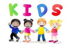 Harmonious kids Royalty Free Stock Photos