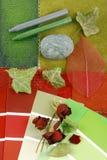 Harmonisation de couleur pour l'intérieur Photographie stock
