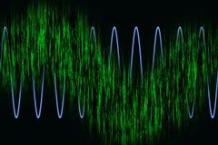 Harmonisch golvendiagram vector illustratie