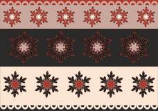 Harmonisch ornament voor druk op stof stock illustratie