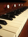 Harmonium Stock Photo
