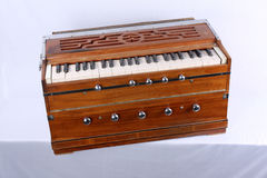 Harmonium. An Indian reed instrument called the harmonium Royalty Free Stock Photos