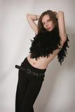 harmonous piękny gir cienieje Zdjęcie Royalty Free
