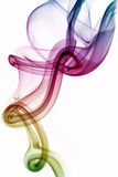 Harmony. Colorful and Unique Abstract Smoke Art Royalty Free Stock Photos