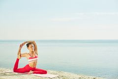 Harmony of body and soul Royalty Free Stock Images