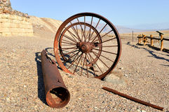 Harmony Borax Works, Death Valley Fotos de archivo