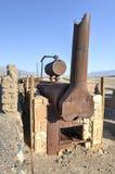 Harmony Borax Works, Death Valley Stock Image