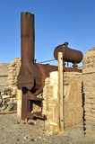Harmony Borax Works, Death Valley Stock Images