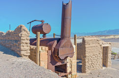 Harmony Borax Works in Death Valley. USA. Harmony Borax Works in Death Valley, USA Stock Image