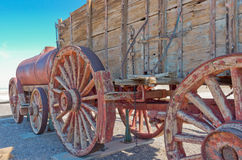 Harmony Borax Works in Death Valley, USA Lizenzfreies Stockfoto