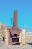 Harmony Borax Works in Death Valley. USA Stock Photos