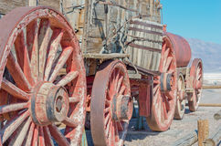 Harmony Borax Works in Death Valley, USA Royalty Free Stock Photography