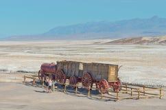 Harmony Borax Works en Death Valley, los E.E.U.U. Fotos de archivo libres de regalías