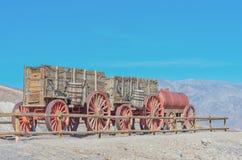 Harmony Borax Works en Death Valley, los E.E.U.U. Fotografía de archivo