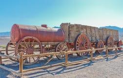 Harmony Borax Works en Death Valley, los E.E.U.U. Foto de archivo