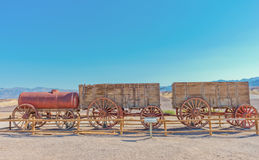 Harmony Borax Works en Death Valley, los E.E.U.U. Foto de archivo libre de regalías