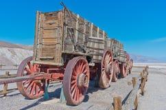Harmony Borax Works en Death Valley, los E.E.U.U. Fotografía de archivo libre de regalías