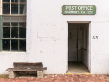 Harmony, California Post Office Royalty Free Stock Photo