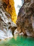 Harmony Canyon profunda en Turquía Imagenes de archivo