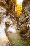 Harmony Canyon profunda en Turquía Foto de archivo