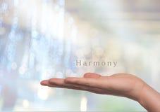 Harmony concept Stock Photography