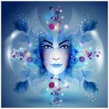Harmony. Feminine image of spring and harmony Stock Photos