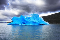 The harmony of the iceberg Royalty Free Stock Images