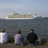 Harmony of the Seas world's largest cruise ship Stock Image