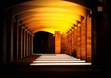 Harmony Shadows. Tuscany Maremma Italy Empty Space Royalty Free Stock Images
