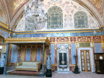 Harén del palacio de Estambul Topkapi Imágenes de archivo libres de regalías