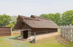 Harneskseminarium av Ne-slotten i Hachinohe, Japan Arkivfoto