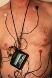 Harness cardiac monitor stock image